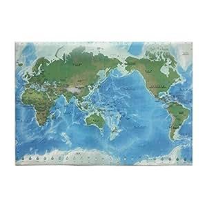 東京カートグラフィック クリアファイル地勢メルカトルA3 CFEM