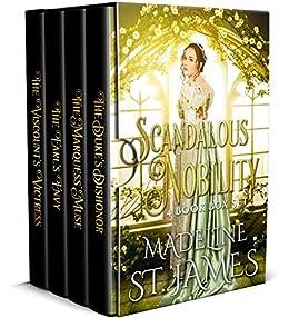 Scandalous Nobility: Regency Romance Box Set by [St.James, Madeline]