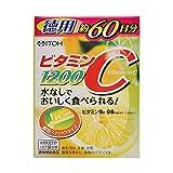 【お徳用 2 セット】 ビタミンC1200 2g×60袋×2セット