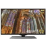 シャープ SHARP 40V型 4K チューナー内蔵 液晶 テレビ AQUOS Android TV HDR対応 4T-C40BJ1