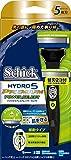 シックSchick 5枚刃ハイドロ5プレミアム パワーセレクトホルダー替刃1コ+交換替刃1コ付 選べる3段階カスタム振動 男性カミソリ