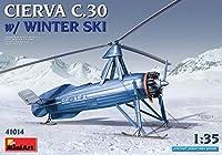 ミニアート 1/35 シェルヴァC.30 雪上スキー仕様 プラモデル MA41008