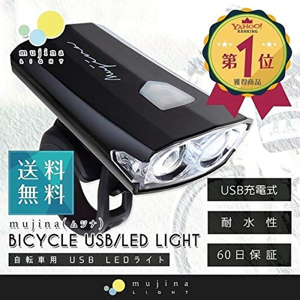 泥沼ぼんやりした提出する着脱簡単 工具不要 ハンドル取り付け型 自転車 ライト LED 防水 USB充電式人気 ポイント消化