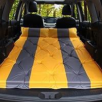 スチーム自動車のインフレータブルベッドSUVのトランク特別な旅行ベッドの車の後ろの行ユニバーサルスリーピングパッドダブルオレンジ3センチメートル