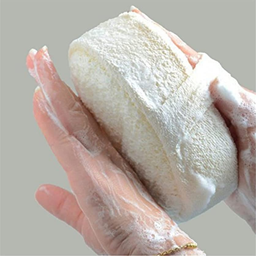 理容室先行する便利Honel ボディ スポンジ  マッサージ バス シャワー お風呂 天然ヘチマ