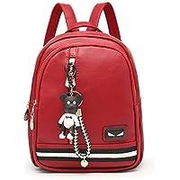 (アグーラー) AgooLar レディース 装飾された カジュアル コットン バッグ 学校 バックパック