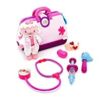 Disney Doc McStuffins Toy Hospital Play Set with Lambie Plush [並行輸入品]