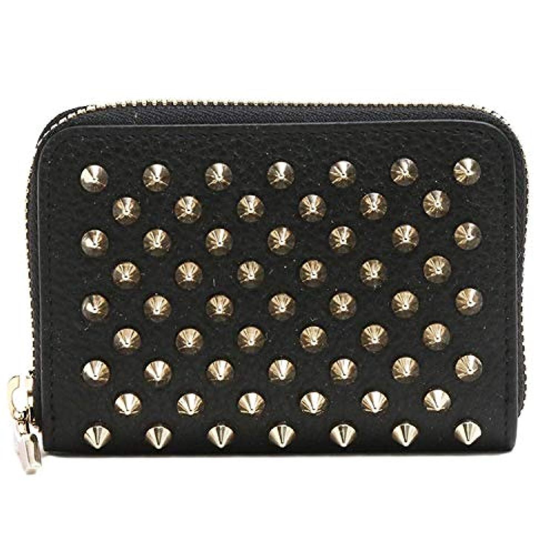 (クリスチャンルブタン) CHRISTIAN LOUBOUTIN コインケース ファッション小銭入れ coin purse (ブラック×ゴールド)