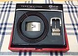 紳士革ベルト リバーシブル 黒&茶 4WAY 08-4182 トミー・ヒルフィガー画像①