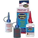 (プラトレイ) Pratley プラスチック修復用アクリル接着剤 デュアル修理キット フィラー 自動車バンパー修理 丈夫で強力 クイックセット ほとんどのプラスチック、金属、ガラス、ゴムに対応