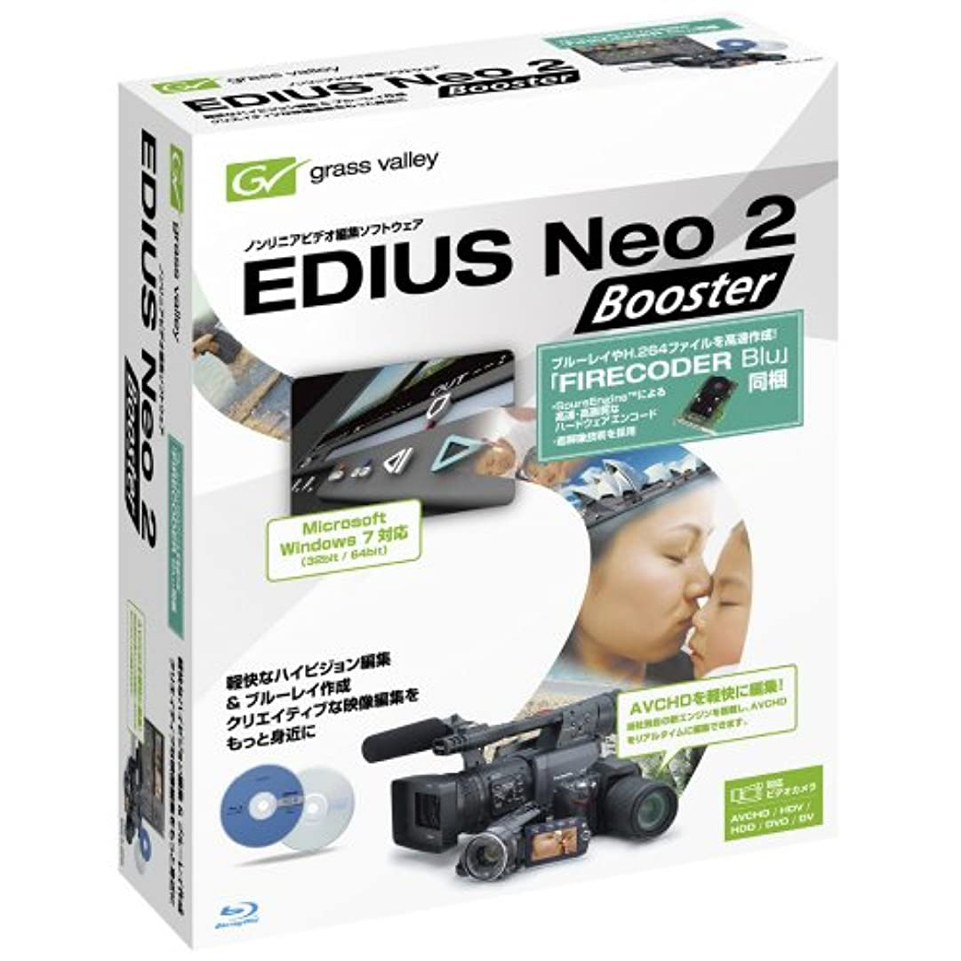 スリンク振る舞いディンカルビルEDIUS Neo 2 Booster with FIRECODER Blu