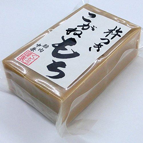 【切り餅】手作り杵つき餅 栃餅(10枚入)×2点セット/新潟産「こがねもち」使用
