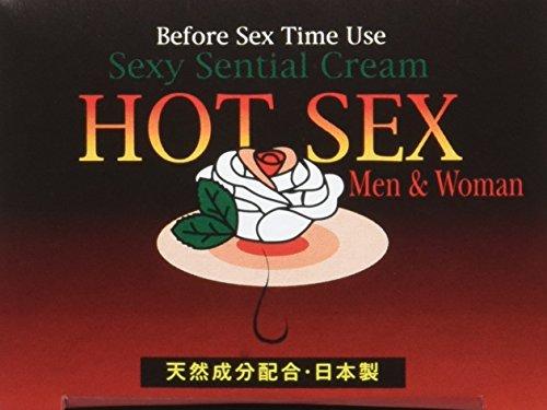 効果絶大! 『HOT SEX』 (ホットセックス) 感度UP 男女兼用 新クリーム -