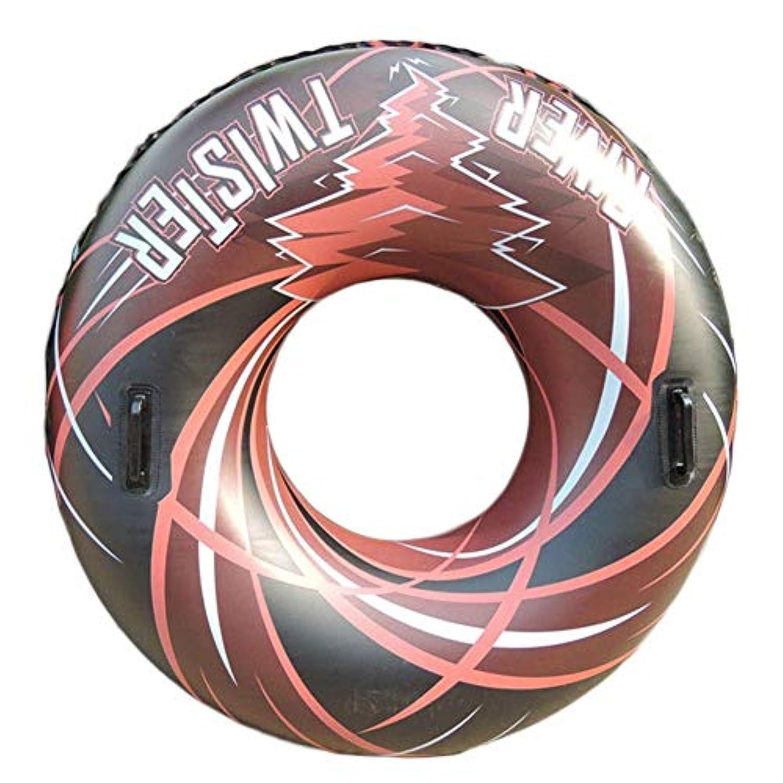 クラシック 男女兼用 浮き輪 レディース夏浮輪 水インフレータブル肥厚水泳リング夏ポータブルスイミングプールビーチフローティングプールの装飾大人子供カップル37.8