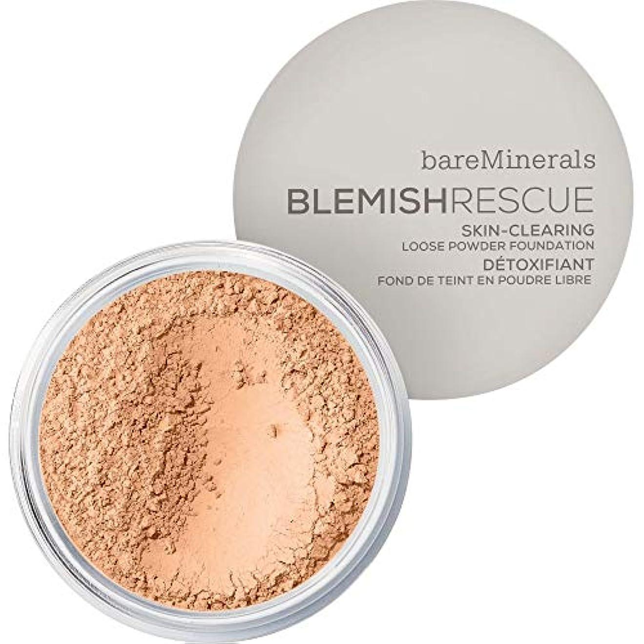 ペルソナ聴くスチュワーデス[bareMinerals ] ベアミネラルは3.5Nwを6Gレスキュースキンクリア緩いパウダーファンデーションを傷 - 黄金のヌード - bareMinerals Blemish Rescue Skin-Clearing...