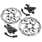 TRP SPYKE MTB Alloy Mechancial Disc Brake Set 160mm Rotor, Front and Rear, MH1704