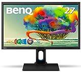 BenQ デザイナーズ モニター ディスプレイBL2711U 27インチ/4K/IPS/ノングレア/sRGB 100%/Rec709 100%/ブルーライト軽減/スピーカー付/ピボット