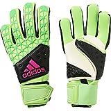 adidas(アディダス) サッカー用 キーパーグラブ ACE ゾーン プロ ソーラーグリーン×コアブラック×ショックピンクS16 KAO90 ソーラーグリーン×コアブラック×ショックピンクS16
