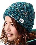 snowdrop(スノードロップ) 全4色 レディース ニット帽 ローゲージ SDA-75 MIX-TUR ニット帽子 毛糸のぼうし ビーニー キャップ ウォッチ キャップ ニット キャップ 女性用 おしゃれ かわいい