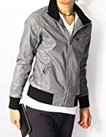 (リピード) REPIDO レザージャケット メンズ ライダース ジャケット ブルゾン 革 ライダースジャケット 革ジャン シングル PUレザー ジップ