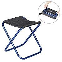 Kobwaアウトドア折りたたみ椅子ポータブル折りたたみ式軽量アルミニウムキャンプ旅行椅子アウトドアビーチハイキング釣りバックシートスツール