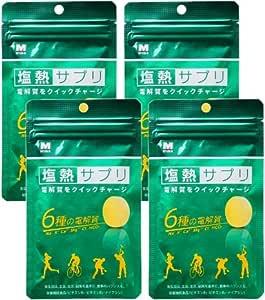 【4個セット】ミドリ安全 塩熱サプリ 30g