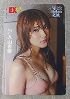 AKB48 入山杏奈 あんにん QUOカード