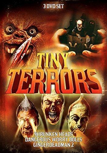 Tiny Terrors 3-Pack: Shrunken Heads / Dangerous Worry Dolls / Gingerdead Man 2 by Various