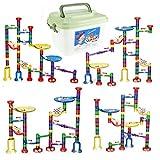 WTOR おもちゃ ビーズコースター 知育 玩具 組み立て 男の子 女の子 贈り物 誕生日プレゼント 子供 積み木 (80ピース)
