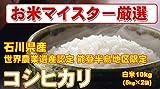 石川県産 【世界農業遺産認定・能登半島地域限定】 白米 コシヒカリ 10kg (5kg×2) (検査一等米) 平成28年産