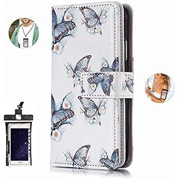 耐汚れ 耐摩擦 iPhone X ケース 手帳型 本革 レザー カバー 財布型 スタンド機能 カードポケット 耐摩擦 全面保護 人気 アイフォン[無料付防水ポーチケース]