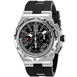 [ブルガリ]BVLGARI 腕時計 ディアゴノ ブラック文字盤 DP45BSTVDCH/GMT メンズ 【並行輸入品】