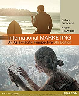 International Marketin An Asia Pacific Perspective By Fletcher