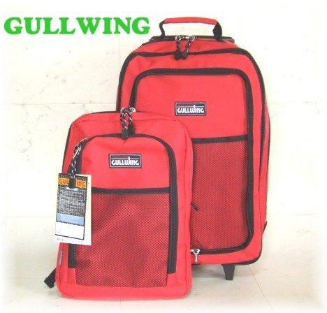 脱着式Dパック付属/機能的な3wayトロリーバッグ(赤)