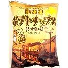 深川油脂工業 北海道ポテトチップス小樽編うす塩味 75g×12袋