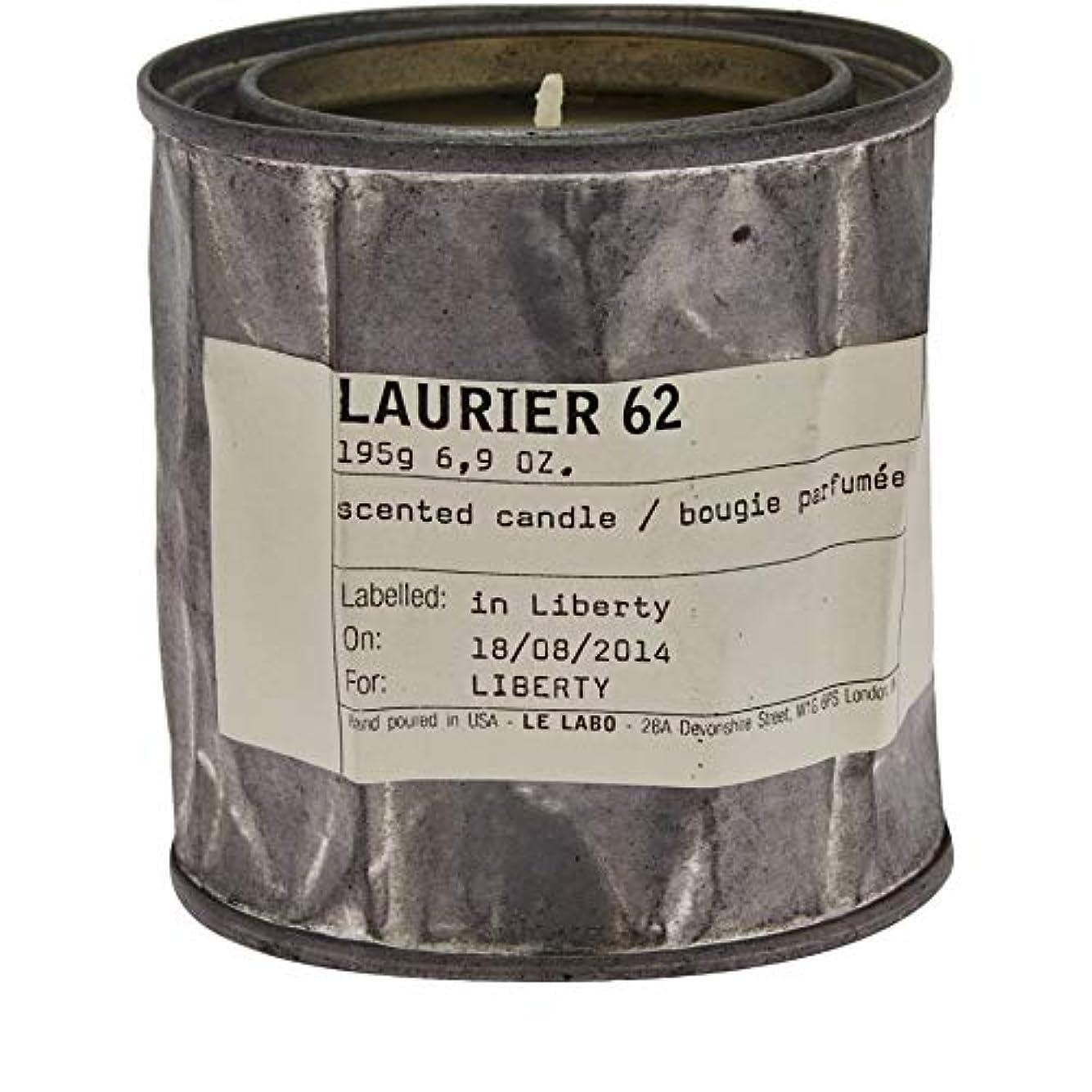 チャレンジバラ色年金[Le Labo ] ルラボローリエ62キャンドル195グラム - Le Labo Laurier 62 Candle 195g [並行輸入品]