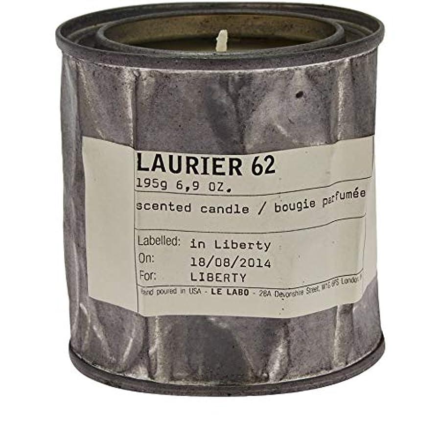 リネン幾分社会学[Le Labo ] ルラボローリエ62キャンドル195グラム - Le Labo Laurier 62 Candle 195g [並行輸入品]