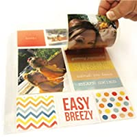 Simple Stories Snatp! Photo Flips for 6 by 8-Inch Binders, 4 by 6-Inch, 12-Pack
