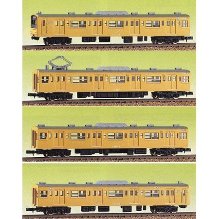 Nゲージ 402 エコノミーキット JR201系 4輛編成   グリーンマックス