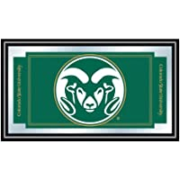 コロラド州立大学のロゴとマスコット入り鏡