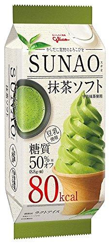 グリコ SUNAO 抹茶ソフト 152ml×20個