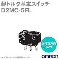 オムロン(OMRON) D2MC-5FL 軽トルク基本スイッチ (反時計方向(CCW)) NN
