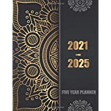 2021-2025 Five Year Planner: 60 Months Calendar, 5 Year Appointment Calendar, Business Planners, Agenda Schedule Organizer Lo