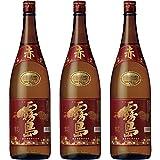 霧島酒造 赤霧島 25度 1800ml × 3本セット (1.8L × 3本セット)