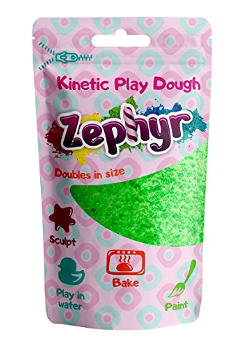 ゼファー、Kinetic play-doughのDoyパック(グリーン)