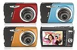 Kodak コンパクトデジタルカメラ (1220万画素 光学3倍ズーム) EASYSHARE M530 ブルー 8631016