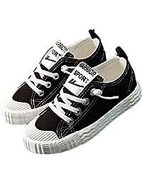 WARRIOR Boy's Canva Shoes 運動靴 男の子 スニーカー 子供靴 キッズ スポーツ 通気 歩きやすい デッキシューズ 一人でさっと 履きやすい