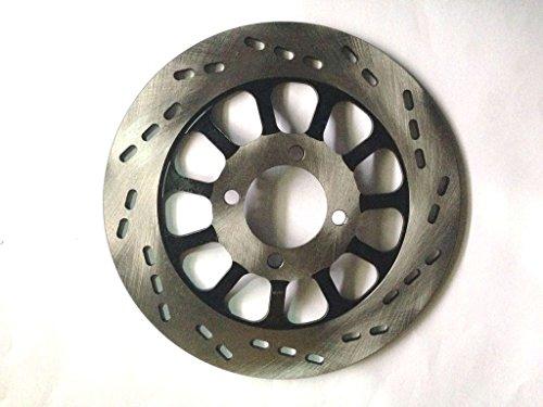 (DT Motor parts) バイク ブレーキディスク/ローター フロントGN125 GS125 直径220mm