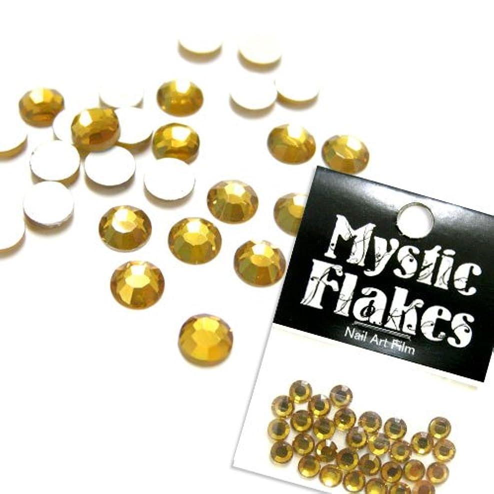 保険をかけるケーキマスクミスティックフレース ネイル用ストーン ラインストーン ゴールド 5mm /30P