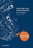 Cover of Ethics and Legal Professionalism in Australia ebook